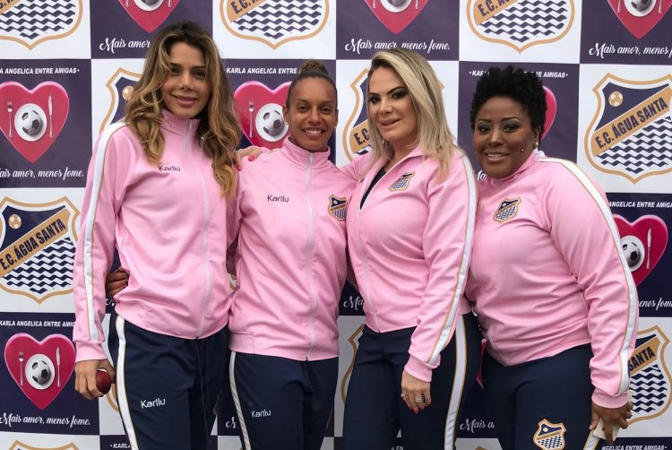 Patricia Limongie, Rosana Augusto, Karla Angelica e Vanessa Jackson