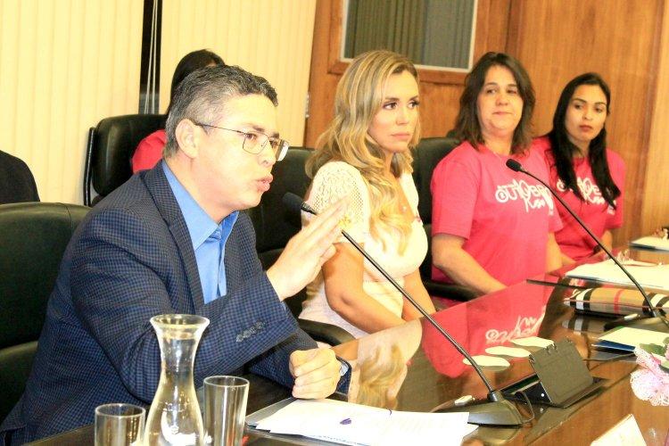 Presidente Republicano da Capital de São Paulo Marcos de Alcântara , Renata Banhara e Carlinda Tinoco