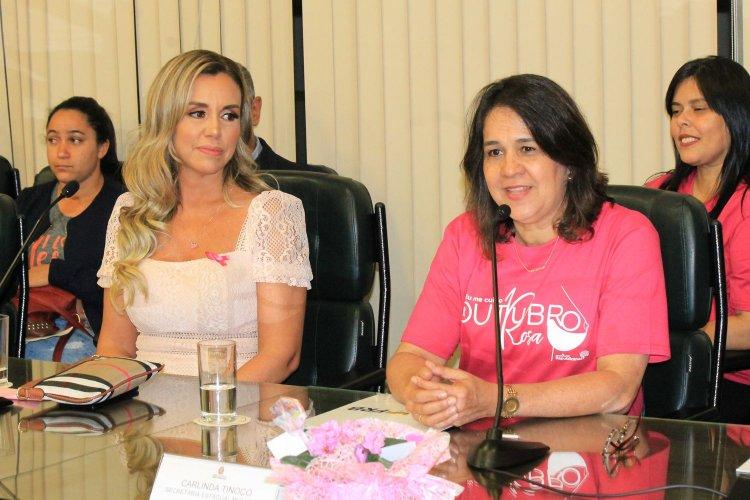 Renata Banhara e Carlinda Tinoco