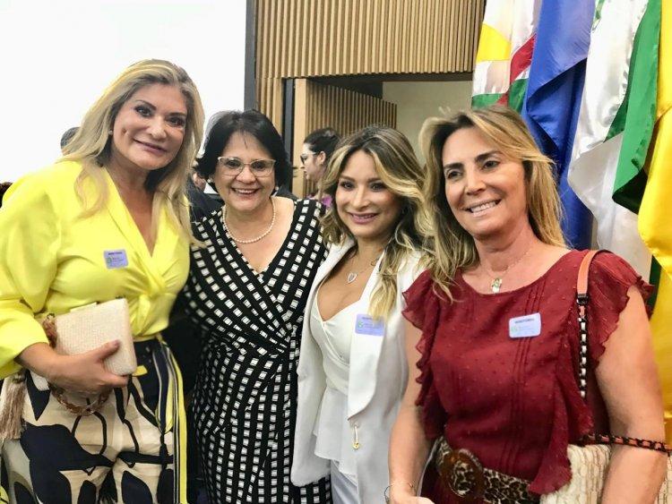 Marta Lívia Suplicy, Damares Alves, Mônica Aguirre e Ana Cláudia Cotait