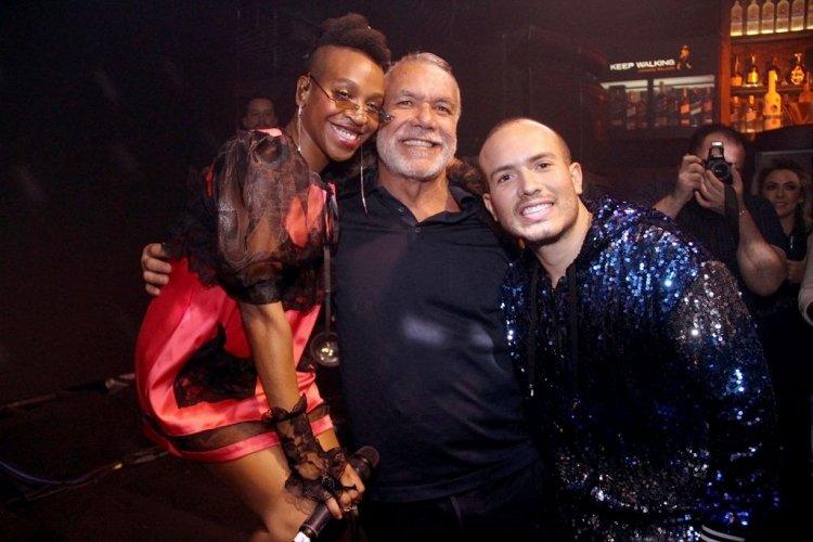 Karol Conká, Marcos Menezes e Júnior Pacheco
