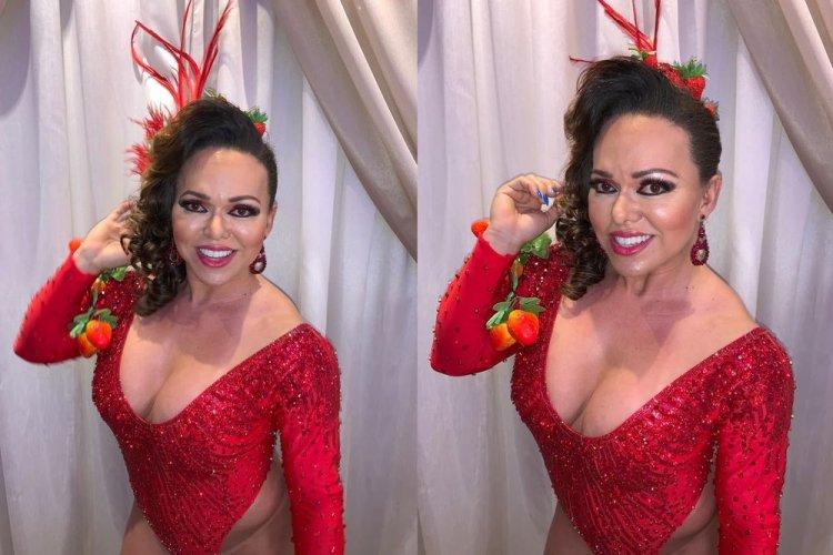 Rainha de Bateria Andréa Capitulino 01 - Rainha de Bateria Andréa Capitulino adere a utilização do hormônio HCG para arrasar no Carnaval